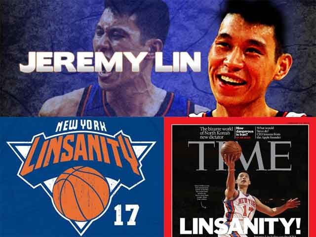 Three weeks ago, even some of the Knick players might have not known the answer to that question. A regular looking Asian kid admitted to often having trouble proving to Madison Square Garden personnel that he was actually a player for the team. Despite being well-known in the Bay areas' Asian-American community, he was basically a nobody at the NBA level.  Then, Linsanity began.